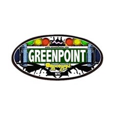 Greenpoint Brooklyn NYC (White) Patches