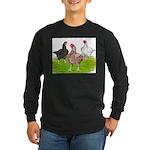 Assorted Cornish Long Sleeve Dark T-Shirt