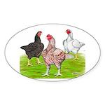 Assorted Cornish Oval Sticker