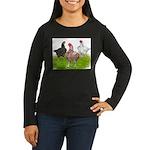 Assorted Cornish Women's Long Sleeve Dark T-Shirt