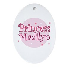 Madilyn Oval Ornament