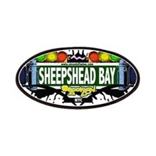 Sheepshead Bay Brooklyn NYC (White) Patches