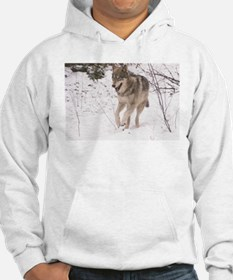 """""""A Timber Wolf"""" Hoodie"""