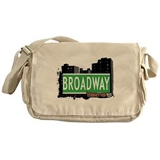BROADWAY, MANHATTAN, NYC Messenger Bag