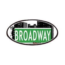BROADWAY, MANHATTAN, NYC Patches