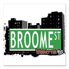 """New Section Square Car Magnet 3"""" x 3"""""""