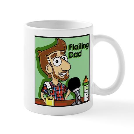 Flailing Dad Logo Mug