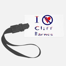 I Hate Cliff Barnes Luggage Tag