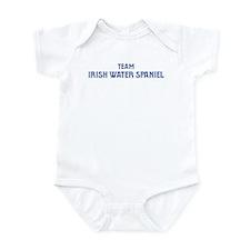Team Irish Water Spaniel Infant Bodysuit