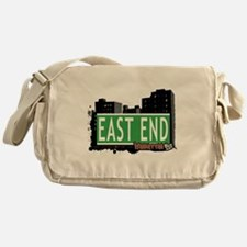EAST END, MANHATTAN, NYC Messenger Bag