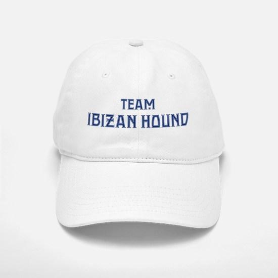 Team Ibizan Hound Baseball Baseball Cap