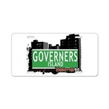 New Section Aluminum License Plate
