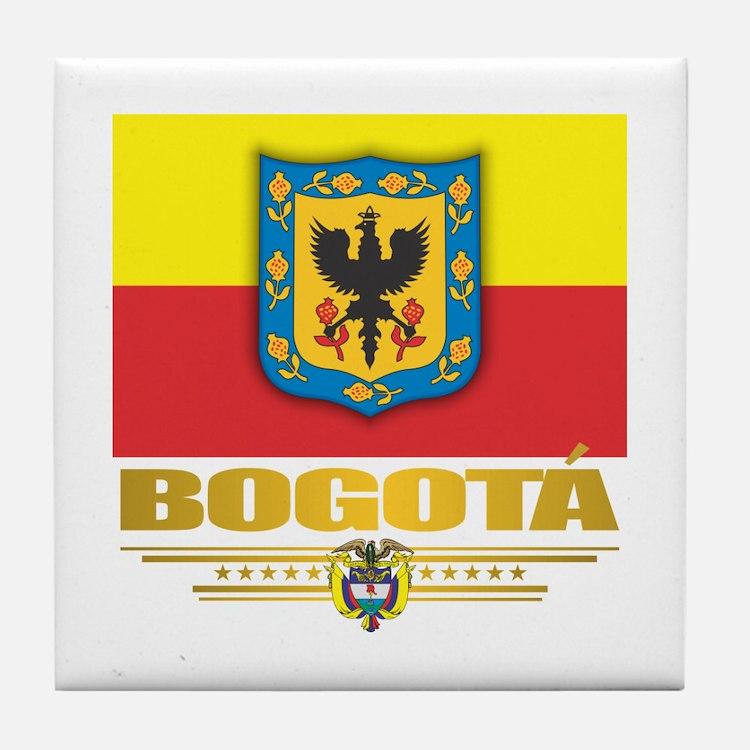 Bogota Pride Tile Coaster