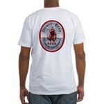 MEISTER BRAU Beer Label Fitted T-Shirt