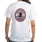 MEISTER BRAU Beer Label White T-Shirt