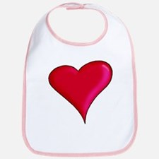 Red Heart Bib