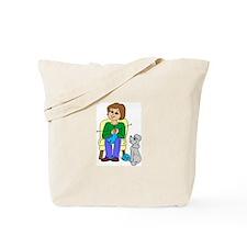 """""""Knitter"""" Tote Bag"""