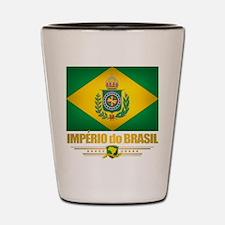 Empire of Brazil Flag Shot Glass
