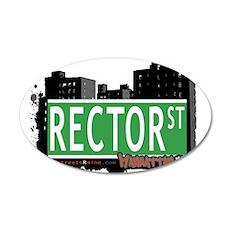 RECTOR STREET, MANHATTAN, NYC Wall Decal