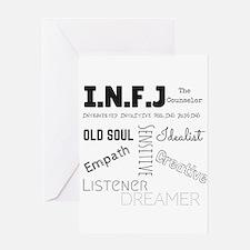 INFJ Greeting Cards