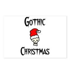 Gothic christmas Postcards (Package of 8)