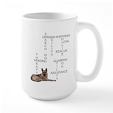 GSD crossword puzzle Mug