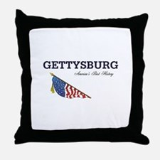 ABH Gettysburg Throw Pillow