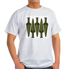 Early Bronze Age Daggers Ash Grey T-Shirt