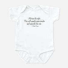 Do Right Infant Bodysuit