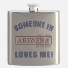 Someone In Arizona Loves Me Flask