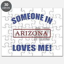 Someone In Arizona Loves Me Puzzle