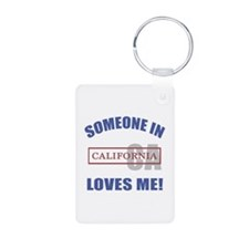 Someone In California Loves Me Keychains