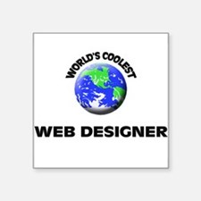 World's Coolest Web Designer Sticker
