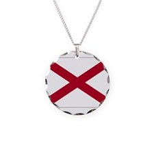 Alabama Flag Necklace