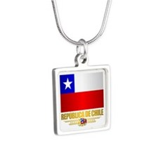 Flag of Chile Necklaces