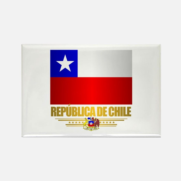 Flag of Chile Rectangle Magnet