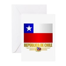 Flag of Chile Greeting Cards (Pk of 10)