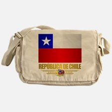 Flag of Chile Messenger Bag