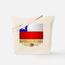 Flag of Chile Tote Bag