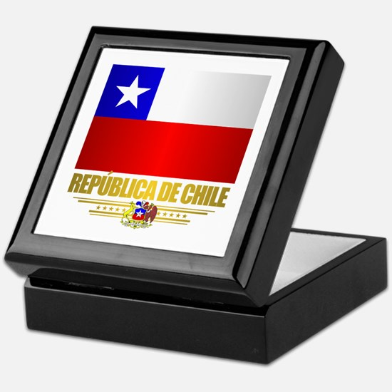 Flag of Chile Keepsake Box