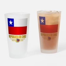 Flag of Chile Drinking Glass