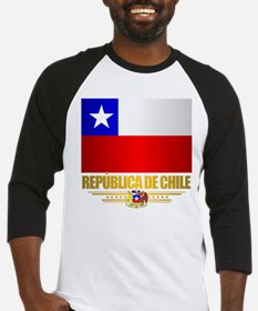Flag of Chile Baseball Jersey
