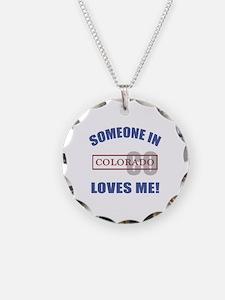 Someone In Colorado Loves Me Necklace