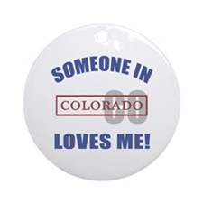 Someone In Colorado Loves Me Ornament (Round)
