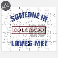 Someone In Colorado Loves Me Puzzle