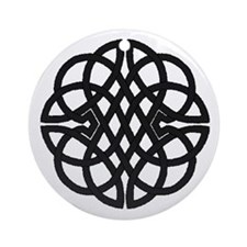 Celtic Knot 27 Ornament (Round)