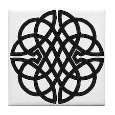 Celtic Knot 27 Tile Coaster