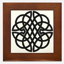 Celtic Knot 27 Framed Tile