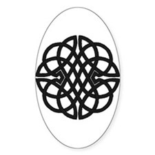 Celtic Knot 27 Oval Decal