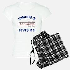 Someone In Delaware Loves Me pajamas